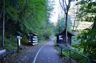 Przeprawa przez Dunajec niedaleko Szczawnicy
