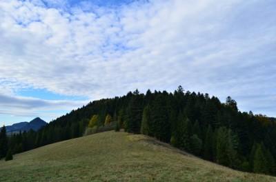 Przełęcz pod Klasztorną Górą (605 m n.p.m.)