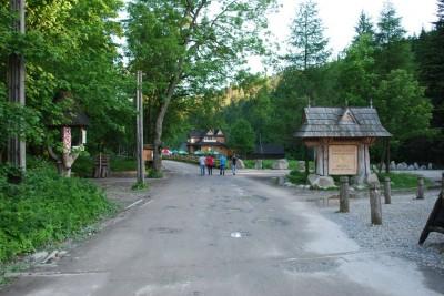 Wejście do Doliny Kościeliskiej